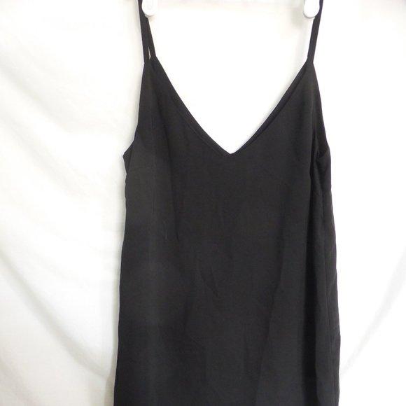 TWIK by SIMONS, xs, black spaghetti strap dress